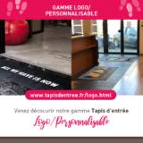 tapis logo personnalisable